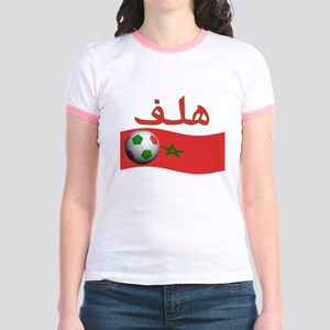 TEAM MOROCCO ARABIC GOAL Jr. Ringer T-Shirt