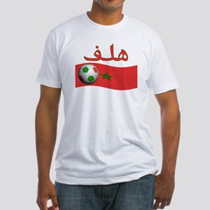TEAM MOROCCO ARABIC GOAL Fitted T-Shirt
