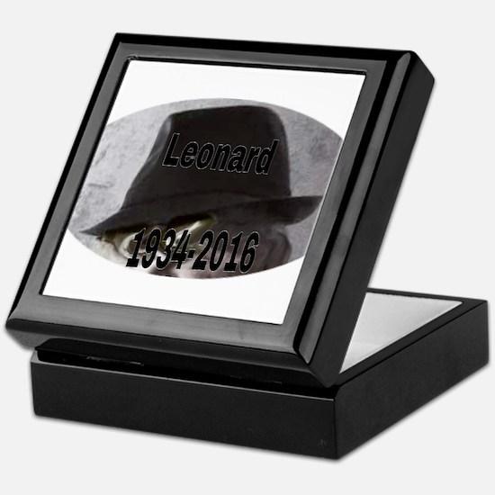 Leonard 1934-2016 Keepsake Box