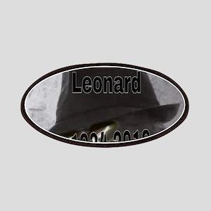 Leonard 1934-2016 Patch