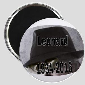 Leonard 1934-2016 Magnets