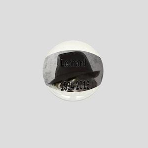 Leonard 1934-2016 Mini Button