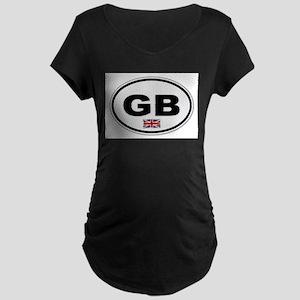 GB Plate Maternity T-Shirt