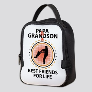Papa And Grandson Best Friends For Life Neoprene L