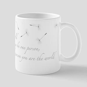 Dandelion Inspiration Mugs