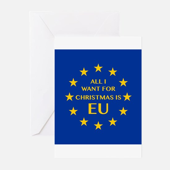 All I want for Christmas is EU Greeting Cards