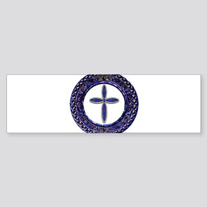 Western Cross Bumper Sticker