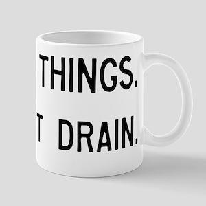 Pinball Don't Drain Humorous Mug