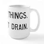 Pinball Don't Drain Humorous Large Mug