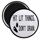 Pinball Don't Drain Humorous Magnet