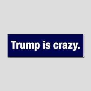 Trump Is Crazy Car Magnet 10 X 3