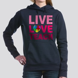 Live Love Teach Autism Sweatshirt