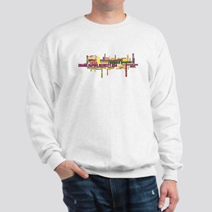 Grand Rapids Beer City USA - color print Sweatshir