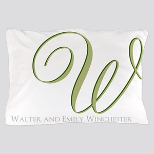 Elegant Monogram and Text by LH Pillow Case