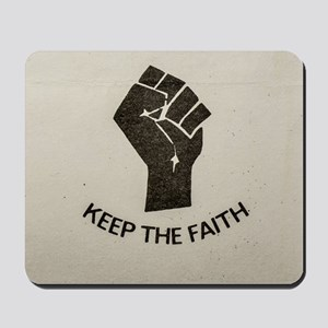 WIGAN LIVES ON ... KEEP THE FAITH Mousepad