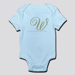 Elegant Monogram and Text by LH Body Suit