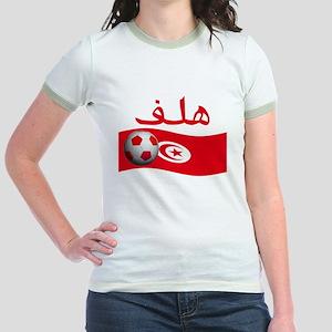 TEAM TUNISIA ARABIC GOAL Jr. Ringer T-Shirt