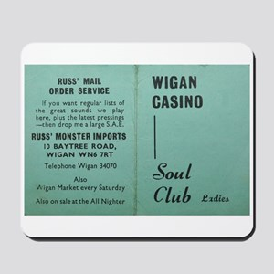 wigan casino NORTHERN SOUL Mousepad