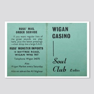 wigan casino NORTHERN SOU Postcards (Package of 8)
