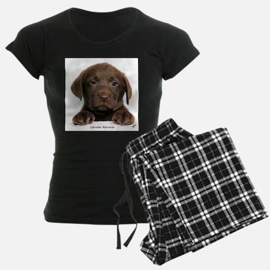 Chocolate Labrador Retriever Pajamas