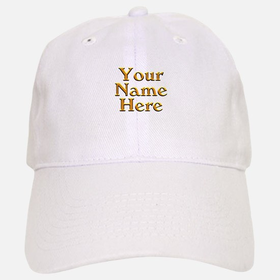 Custom Personalized Gifts Baseball Baseball Cap