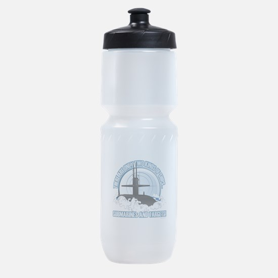 Submarines And Targets Sports Bottle