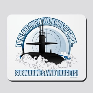 Submarines And Targets Mousepad