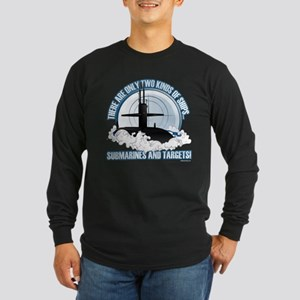 Submarines And Targets Long Sleeve T-Shirt