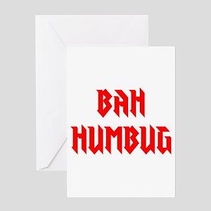 BAH HUMBUG Greeting Cards