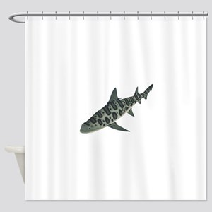 TRACKING Shower Curtain