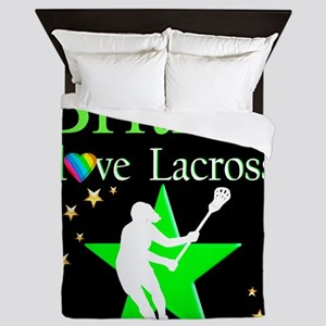 LACROSSE GIRL Queen Duvet