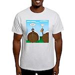 Turkey in Glasses Light T-Shirt