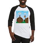 Turkey in Glasses Baseball Jersey