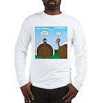 Turkey in Glasses Long Sleeve T-Shirt