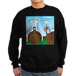 Turkey in Glasses Sweatshirt (dark)