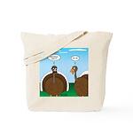 Turkey in Glasses Tote Bag