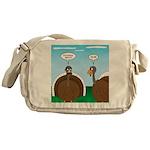 Turkey in Glasses Messenger Bag