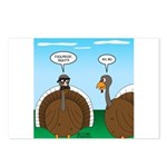 Turkey in Glasses Postcards (Package of 8)