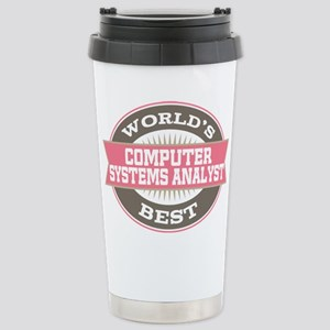 computer systems analys Stainless Steel Travel Mug