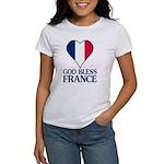 God Bless France Women's T-Shirt