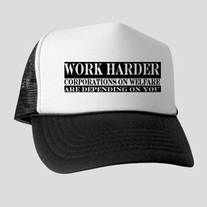 Corporate Welfare Trucker Hat