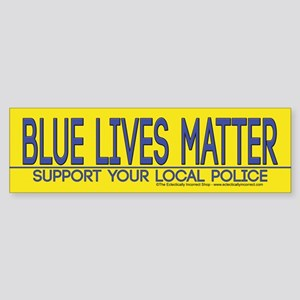 Support Your Police Bumper Sticker
