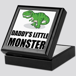 Daddy's Little Monster Keepsake Box