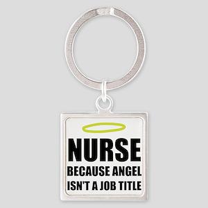 Nurse Angel Job Title Keychains