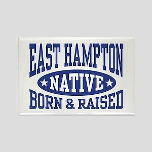 East Hampton Native Rectangle Magnet