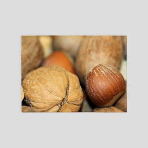 Nuts 5'x7'Area Rug