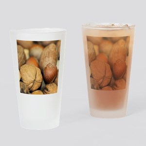 Nuts Drinking Glass