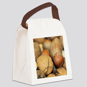 Nuts Canvas Lunch Bag