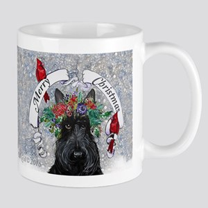 Scottish Terrier Christmas Mugs