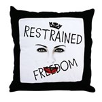 RESTRAINED FREEDOM Throw Pillow